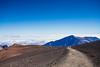 into the clouds (EdgarJi) Tags: haleakala hawaii maui hiking landscape volcano cloud mountain nature blue sky