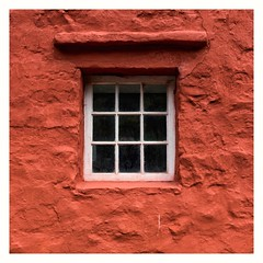 Red Centre... (zapperthesnapper) Tags: red window oldwindow minimalist minimal redwall wall sonyrx10 sonyimages sonycybershot sony stfagans museum