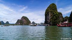 Ao Phang Nga National Park, Thailand (Lцdо\/іс) Tags: ao phang nga national park thailande thailand thailandia krabi aonang puhket réserve naturelle lцdоіс voyage james bond island koh