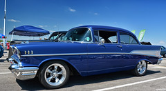 1957 Chevy Bel Air (Chad Horwedel) Tags: 1957chevybelair chevybelair chevy chevrolet belair classic car hrpt17 kansascity
