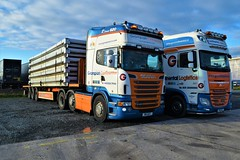 DSC_0008 (richellis1978) Tags: truck lorry cannock transport haulage logistics grampian continental scania r r620 v8 w5gcl w5 gcl daf xf 106 p16 p16gcl
