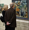 Steve des Landes Private View - Un-settled (17) (ronramstew) Tags: artist painter paintings oils stevedeslandes exhibition privateview wirral merseyside birkenhead january 2018 2010s williamsonartgallery unsettled