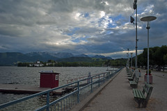 Stormy clouds over the lake Traunsee (Matjaž Skrinar) Tags: nikonsigma 250v10f gmunden