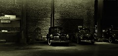 1940's Mob Empire (gpholtz) Tags: diorama miniatures 118 diecast 1941 plymouth
