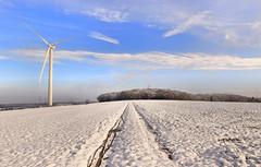 Winter Südeifel (Sam ♑) Tags: sam eifel winter windkraftanlage meckel gilzem bitburg südeifel suedeifel canon 80d tamron 1530mm schnee snow landscape