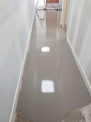 Screed and Polyflor standard