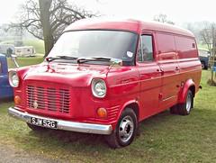 194 Ford  Transit Custom Van (Mk.I) (1969) (robertknight16) Tags: ford british 1960s transit van weston sjw52g