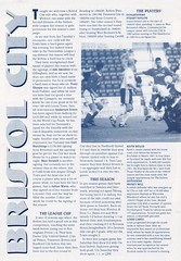 Shrewsbury Town vs Bristol City - 1998 - Page 8 (The Sky Strikers) Tags: shrewsbury town bristol city gay meadow worthington cup road to wembley official match programme one pound