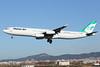 EP-MMA | A343 | MAHAN AIR | LEBL (Ashley Stevens - AirTeamImages) Tags: barcelona airport lebl bcn canon eos aircraft aeroplane aviation civil airplane epmma