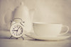 tea time (Ayeshadows) Tags: watch clock vintage cup kettle sepia