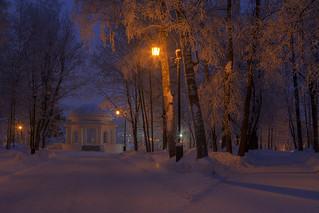 frozen avenues