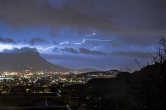 Electric (AzurTones_Photography) Tags: lightning thunder storm rain night sky toulon var paca coudon mountain landscape city nightlight orage pluie éclairs foudre nuages clouds