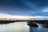Dorney   |   Jubilee Blues (JB_1984) Tags: river jubileeriver water evening sky dusk cloud movement motion blur longexposure neutraldensityfilter ndfilter dorney southbucksdistrict buckinghamshire bucks england uk unitedkingdom nikon d500 nikond500