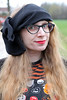 20.1.2018 (House Of Secrets Incorporated) Tags: bow hairaccessories portrait redlipstick lipstick redlips hilde halloween stripes blog blogger blogging kittensandsteamlivejournalcom kittensandsteamblogspotcom instagramkittensandsteam twitterhildebcm belgianblogger