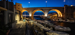 PanoVallon (M.Visions Photographie) Tags: marseille nuit panorama vallon des auffes sony a7m2 nikon 28mm pc perspective control tilt shift lens france flickr