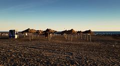 La playa en invierno