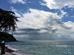 Best Wishes from Mangsit, Lombok, Indonesia (Rana Pipiens) Tags: cirrus cumulus nimbus nusapenidaindonesia nusalembonganindonesia squall weather volcanicrock seaalmond wallaceline lombokstraitindonesia baliindonesia mangsitlombokindonesia cloud