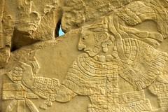Stela 1 , Detail 2, Bonampak Mayan Ruins, SE Mexico (elhawk) Tags: stela1 bonampak chiapas mexico maya