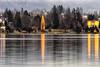 Riflessi natalizi (forastico) Tags: forastico d7000 bled slovenia lago riflessi natale alberodinatale