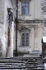 Castle de la Fartin. Rear Door (archpriestess) Tags: lviv lwów castle architecture castles podgoretsky pidhirtsi