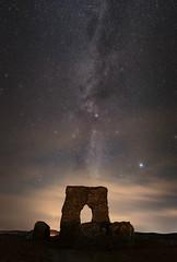 Dunnydeer Milkyway (Brian D 1960) Tags: astrometrydotnet:id=nova2391804 astrometrydotnet:status=solved sundaylights aberdeenshire astro nikon d750 20mm f18 insch dunnydeer night stars dark sky fort ruin