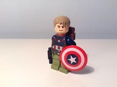 K bricks-verse: Captain America (Sam K Bricks) Tags: lego marvel captain america the first avenger avengers shield