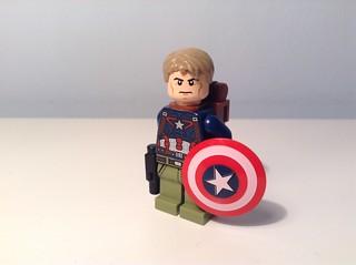 K bricks-verse: Captain America