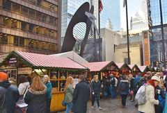 Chicago Christmas Market 2017 (stevelamb007) Tags: illinois chicago christkindlmarket christmasmarket picasso stevelamb nikon d7200