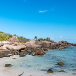 Rock Pools at Petite Anse Cocos La Digue Seychelles thumbnail