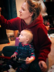 Mommy and Me (lindayaecker) Tags: morning portrait happy family closeness joyful baby mommy