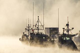 Boat, Boat, Truck, Boat