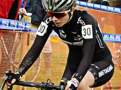 DSCN2802 (Ronan Caroff) Tags: cycling cyclisme ciclismo cyclist cycliste cyclists velo bike course race cyclocross cx sport sports women woman quelneuc morbihan 56 bretagne brittany breizh france championnatsdefrance championnat championship cup contest coupe competition cadette cadettes mud boue