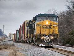 CSX Q513-12 at Murfeesboro, TN (KD Rail Photography) Tags: csx howtomorrowmoves qualityinmotion ge generalelectric c408w cw44ah trains railroads transportation freighttrains winterseason winterweather winter wintermorning cloudydays cloudyweather clouds overcastmorning overcast tennessee tennesseevalley middletennessee rollinghills diesellocomotive diesel locomotive