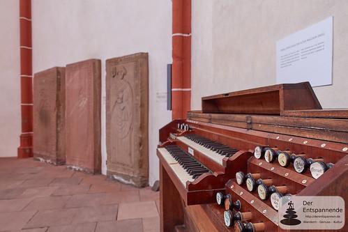 Albert Schweitzer spielte auf dieser Orgel - Katharinenkirche Oppenheim