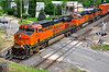BNSF #7813 (Jim Strain) Tags: jmstrain train railroad railway bnsf locomotive diesel galesburg illinois santafe