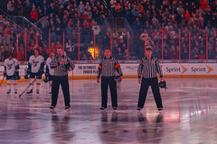 "Kansas City Mavericks vs. Toledo Walleye, January 20, 2018, Silverstein Eye Centers Arena, Independence, Missouri.  Photo: © John Howe / Howe Creative Photography, all rights reserved 2018. • <a style=""font-size:0.8em;"" href=""http://www.flickr.com/photos/134016632@N02/39839491511/"" target=""_blank"">View on Flickr</a>"