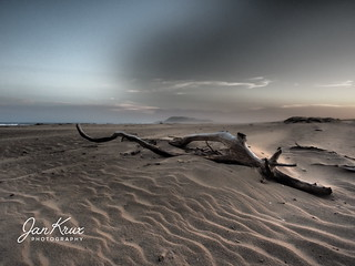 Dusk At Solitary Beach
