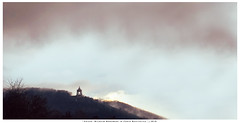 "Kaiser Wilhelm Monument in Porta Westfalica (DerAblichter) Tags: monument denkmal kaiserwilhelm portawestfalica deutschland nationalismus nation landschaftsaufnahmee landschaften landscape tree baum trees bäume light wolken clouds sun contrast colors farben summer winter kunst art licht himmel sky day style nature vacation fall design pattern downtown sunset flower plants blue green flowers portrait old new orange instagramapp ""square format"" iphonegraphy europe travel square london wedding china japan music concerts portraits weddings fashion"