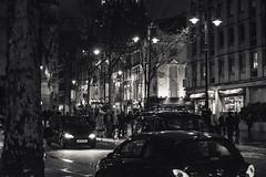 dark nights (adamtambaro) Tags: nikon nikon3400 nightime night nightshoot england london londonstreets londontown light blackandwhite black blackwhite white monochrome mono