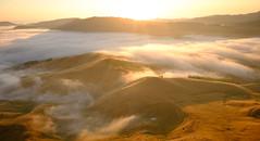 Valley of mist (lizcaldwell72) Tags: mist tukitukivalley sky hawkesbay newzealand tematapeak sunrise light