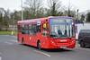 DE1585 - A10 Uxbridge (Gellico) Tags: hayes london bus branding route a10 uxbridge de1585 gellico blue