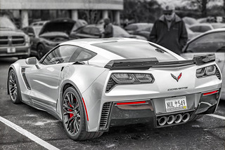 Corvette Backside (Cars & Coffee of the Upstate)