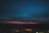 one of many (viewsfromthe519) Tags: sunset evening sky skyscape clouds stthomas ontario canada blue red orange pink magenta moon city