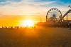 Santa Monica sun (patrick.kiniry) Tags: nikon nikonphotography nikond750 beach sunset sunshine 58mm14 palmtrees city california santamonica fujiastia