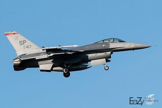91-0417 United States Air Force Lockheed Martin F-16 Fighting Falcon
