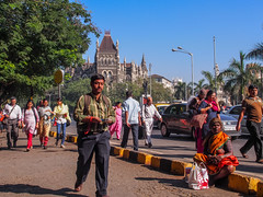 LR Mumbai 2015-529 (hunbille) Tags: birgittemumbai5lr india mumbai bombay fort hutatma chowk martyrs square martyrssquare flora fountain florafountain