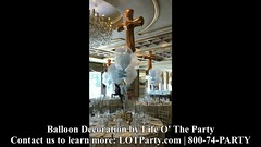 #Christenings (PartiLife) Tags: basics centerpieces megaloonarch christening communion pearlblue lightblue clear ballooninballoon pearlwhite goldcross