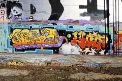 NEAKS, LUCIF (STILSAYN) Tags: graffiti east bay area oakland ca 2018 neaks lucif