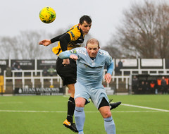 Cray Wanderers 1 Lewes 2 20 01 2018-435.jpg (jamesboyes) Tags: lewes cray bromley football bostik isthmian fa soccer action goal game celebrate celebration sport athlete footballer canon dslr
