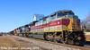 3/5 NS 1074(Lackawanna) Leads NB Empty Coal Drag Lenexa, KS 1-24-18 (KansasScanner) Tags: lenexa kansas bnsf train railroad ns ns1074 lackawanna
